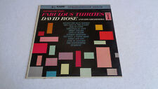 David Rose and His Orchestra – Songs of The Fabulous Thirties Part I - KAPP LP