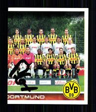 Unbekannt Borussia Dortmund 2001 Panini Sammelbild Original Signiert +A 74770