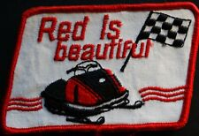 "VINTAGE RUPP SKI-DOO SNOWMOBILE PATCH NEW 3"" X 4"" NICE"