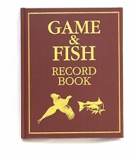 Game Register , Game and Fish Record Book Full colour Illustrated Hardback Large