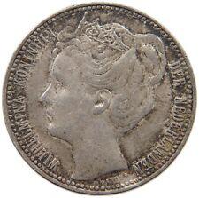 NETHERLANDS 1 GULDEN 1901 RARE #t77 155
