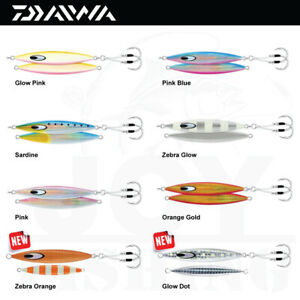Daiwa Saltiga SK Slow Pitch Metal Sinking Fishing Jigs Select Color Size Weight