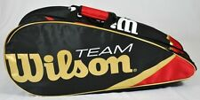 WILSON RACQUET BAG - BLX TEAM II 3X RED - TENNIS / BADMINTON / SQUASH