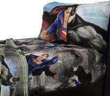 DC Comics BATMAN VS SUPERMAN - TWIN 3pc Sheet Set - CRIME PUNISHMENT