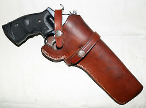 """AAS-72  S&W #21-26 Holster S&W and other Large Frame Revolvers 5-1/2"""" to 6-1/2"""""""