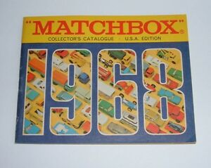 Rare US Matchbox Toys Catalogue, Dated 1968, - Superb Mint.