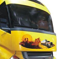 Autocollant De Voiture Airbrush Hottes Repro Western Caravane De Camions