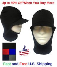 Open Face Overhead Ski Mask Visor Cap Balaclava Hood