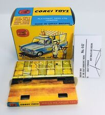 Corgi 447 Wall's Ice Cream Van Empty Repro Box