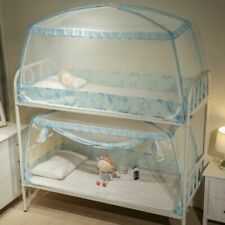 Mosquito Netting Protection Canopy Curtain Set Bunk Beds Home Dormitory Rooms