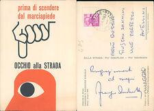 COMUNE DI ROMA,CAMPAGNA DI EDUCAZIONE STRADALE GIUGNO 1963  N.41182
