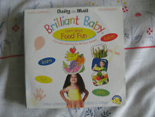 NEW BRILLIANT BABY LEARN ABOUT FOOD FUN DVD DAILY MAIL COLLECTION