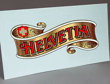 HELVETIA FROM THORENS GRAMOPHONE PHONOGRAPH WATER SLIDE DECAL