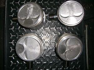 Satz Kolben m. Ringen Pistons with rings Fiat Uno Turbo i.e. 1.4 82 kw