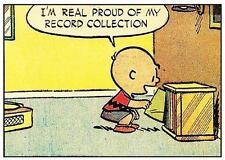 Peanuts # 12 - 8 x 10 Tee Shirt Iron On Transfer record collection