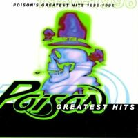 POISON Greatest Hits 1986-1996 CD BRAND NEW Best Of