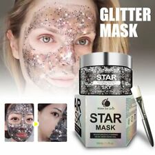 Star Glitter Face Mask Blackhead Remover Deep Cleaning Peel Off Mud Firming O7