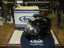 NEW SNELL Arai RX-Q full face street bike helmet R75 polished pearl Black LG
