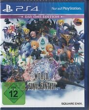 World of Final Fantasy-Day One Edition-Playstation 4/ps4-NUOVO & OVP
