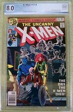 X-Men #114 (Marvel, 10/78) PGX 8.0 VF
