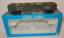 LIFE LIKE HO 1/87 VINTAGE 40 GONDOLA WAGON RAILROAD REF 5810 IN BOX