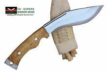 "6"" Hand Forged Blade Authentic British Gurkha Mini Afghan Kukri American Bowie"