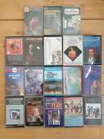 audio music cassette tapes bundle joblot x 18 as pictured mct35
