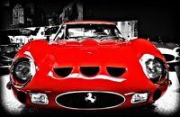 Racer 1960s Ferrari Vintage Sport Race Car Rare 1 12 V12 Carousel Red Metal 18
