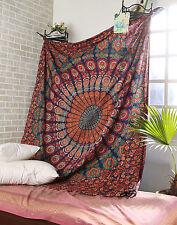 Indian Hippie Mandala Wall Hanging Tapestry Bohemian Bedding Set Bed Sheet Throw
