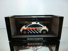 MINICHAMPS VW VOLKSWAGEN NEW BEETLE POLITIE - WHITE 1:43 - EXCELLENT IN BOX