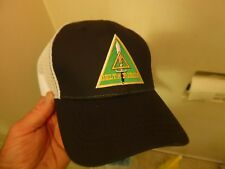 """""""DELTA FORCE"""" Military TRUCKERS Cap!!! Brand NEW Tags!!! Black White sewn Patch"""