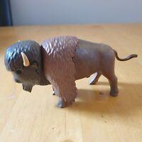 **Rare** Playmobil Bison Western Native American
