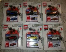 Tomy Tomica Japan 1/60's Scale Wal-Mart Exclusive Lot/Set of 6
