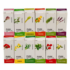 12 Scent Home Fragrance Pure Essential Oil 10ml Set For Air Diffuser Humidifier