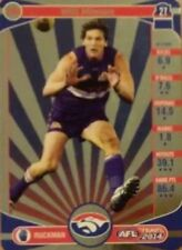 2014 afl TEAMCOACH GOLD WESTERN BULLDOGS WILL MINSON #198 CARD FREE POST
