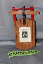 Malden Depot Sled Shape Picture Photo Frame