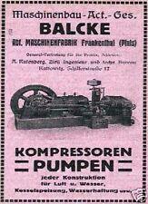 Ingegneria MECCANICA AG Balcke Bochum azione ordinaria 1941 Frankenthal Ratingen Deutsche Babcock