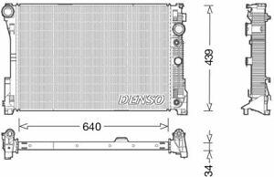 Denso Motor Kühler Für Ein Mercedes Kombi 4.7