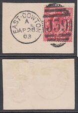 Duplex Edward VII (1902-1910) British Stamps