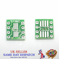 PCB SO MSOP TSSOP SIO6 SOP8 to DIP-8 1.27 / 0.65mm Adapter SMD Converter
