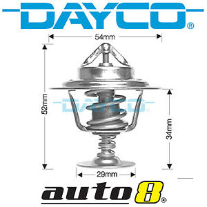 Dayco Thermostat for Holden Cruze JH II 2.0L Diesel Z20D1 2011-2015