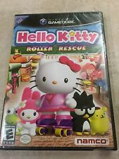 Hello Kitty Roller Rescue (Game Cube) SUPER RARE BLACK LABEL NEW