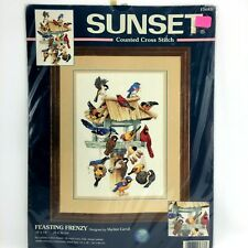 Dimensions Feasting Frenzy Counted Cross Stitch Kit 10x14