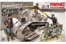 Meng HS-005 1/35 FRENCH FT-17 LIGHT TANK CREW