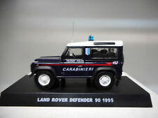 LAND ROVER DEFENDER 90 MILITARY POLICE 1995 CARABINIERI CENTAURIA 1:43