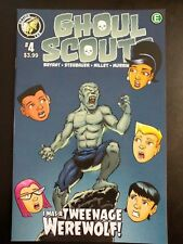 GHOUL SCOUTS: I was a teenage Werewolf! #4 (2018 ACTION LAB) VF/NM Book
