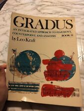 Gradus an Intergrated Approach to Harmony Counterpoint Analysis Book2 Leo Kraft