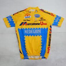 MAGLIA SHIRT TRIKOT CYCLING CICLISMO MERCATONE UNO PANTANI