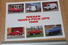 1988 Nissan Vans & Pick-ups catalogue