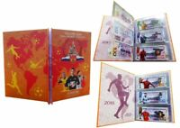 Russia set of 32 banknotes 100 rubles 2018 FIFA world Cup in Russia 2018. Folder